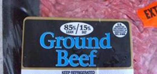 Ground Beef for Satin Balls