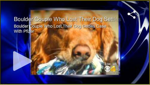 Boulder Couple Loses Dog Rimadyl Lawsuit Video