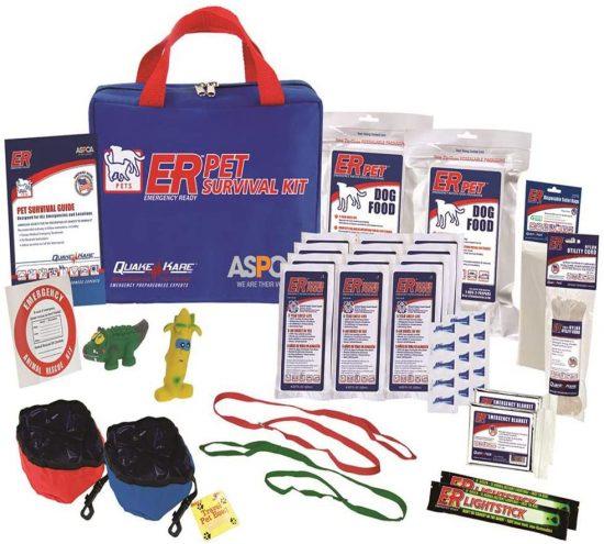 ER Emergency Ready Ultimate Deluxe Survival Kit for Dogs