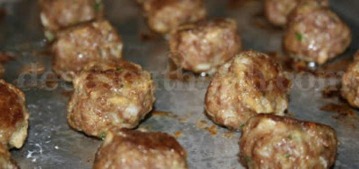 Stinky Cheese Turkey Balls Recipe for Dogs