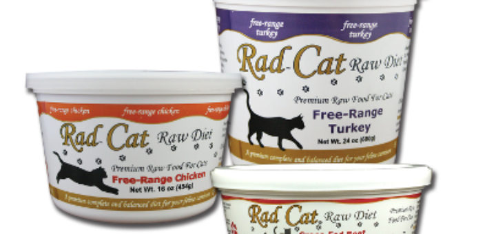 Raw Rad Cat food recalled in U.S., Canada for Listeria, Salmonella June 2016